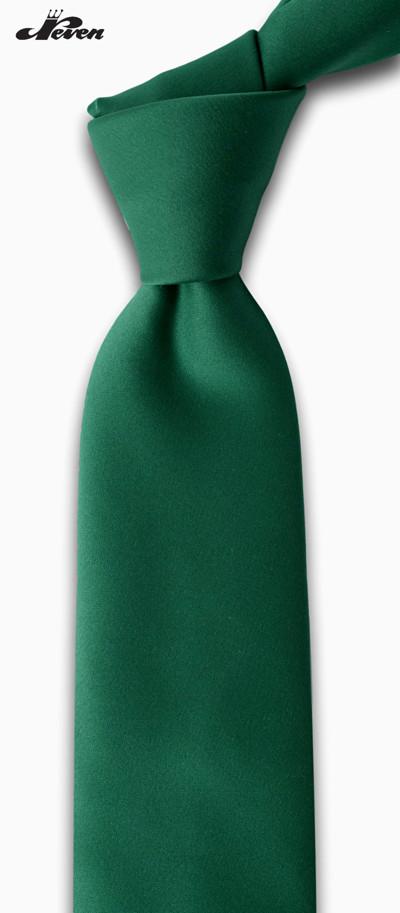 Jednobojna zelena kravata