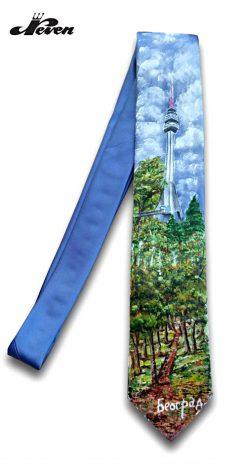 Ručno oslikana kravata