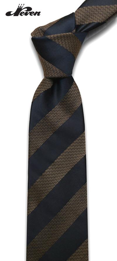 braon svilena kravata