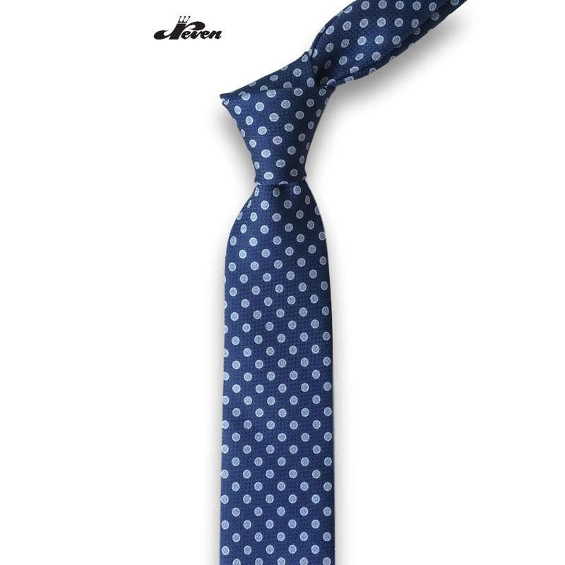 Svilena kravata sa plavim tufnama